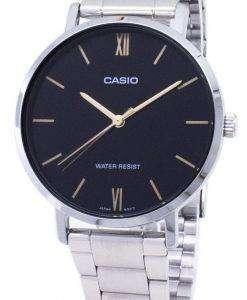 カシオ石英 LTP-VT01D-1 b LTPVT01D 1B アナログ レディース腕時計