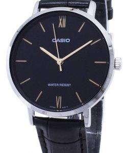 カシオ石英 LTP-VT01L-1 b LTPVT01L 1B アナログ レディース腕時計