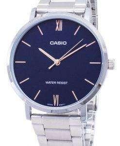 カシオ石英 MTP-VT01D-2B MTPVT01D 2B アナログ メンズ腕時計