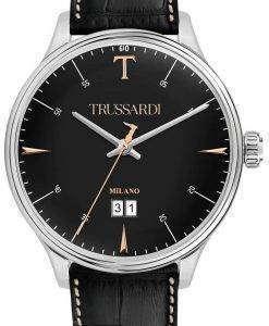 トラサルディ T 共犯 R2451130002 クォーツ メンズ腕時計