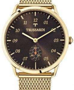トラサルディ T 世界 R2453116001 クォーツ メンズ腕時計
