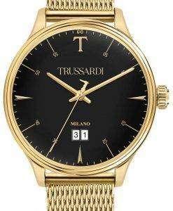トラサルディ T 共犯 R2453130001 石英アナログ メンズ腕時計