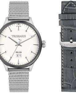 トラサルディ T 共犯 R2453130003 クォーツ メンズ腕時計