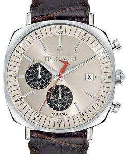 トラサルディ T 王 R2471621002 クロノグラフ クォーツ メンズ腕時計