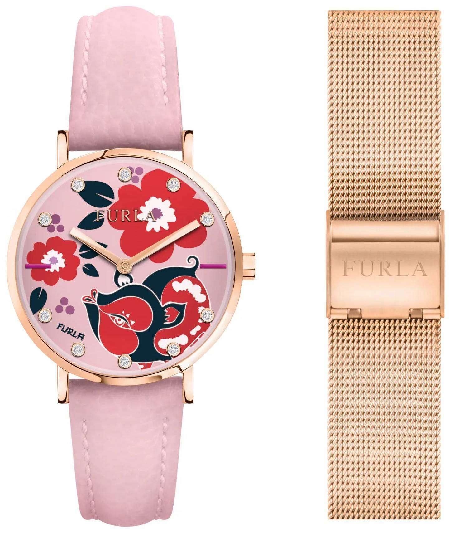 フルラ Giada R4251108533 リミテッド エディション クォーツ レディース腕時計
