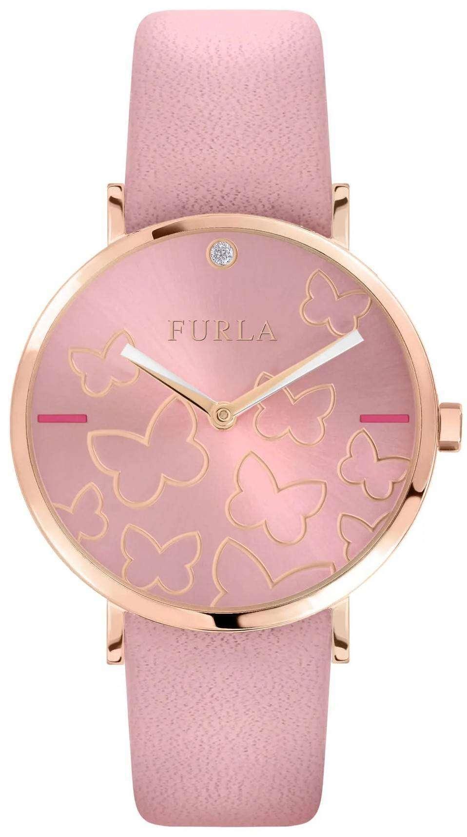 フルラ Giada 蝶 R4251113512 クォーツ レディース腕時計