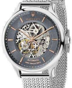 マセラティ紳士 R8823136004 自動スケルトン メンズ腕時計腕時計