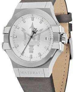マセラティ ポテンザ R8851108018 アナログ クオーツ メンズ腕時計