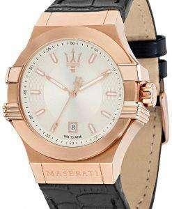 マセラティ ポテンザ R8851108019 クォーツ メンズ腕時計