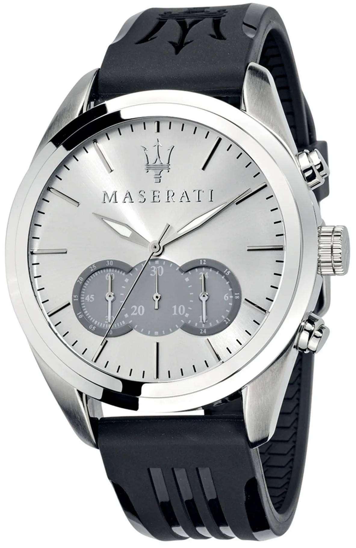 マセラティ Traguardo R8871612012 クロノグラフ クォーツ メンズ腕時計