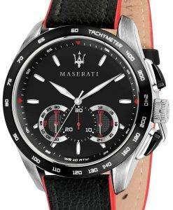 マセラティ Traguardo R8871612028 クロノグラフ タキメーター メンズ腕時計