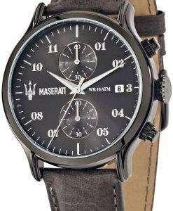 マセラティ刊行物に掲載 R8871618002 クロノグラフ アナログ メンズ腕時計