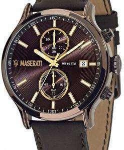 マセラティ刊行物に掲載 R8871618006 クロノグラフ メンズ腕時計