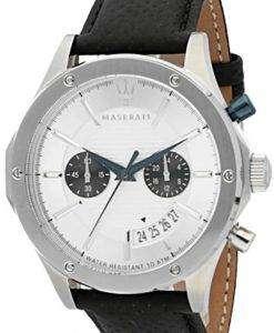 マセラティ日 R8871627005 クロノグラフ アナログ メンズ腕時計