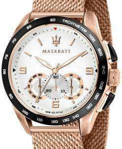 マセラティ Traguardo R8873612011 クロノグラフ タキメーター クォーツ メンズ腕時計