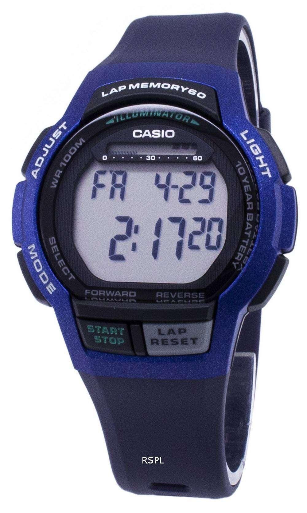 カシオ青年 WS-1000 H-2AV WS1000H-2AV 照明デジタル メンズ腕時計