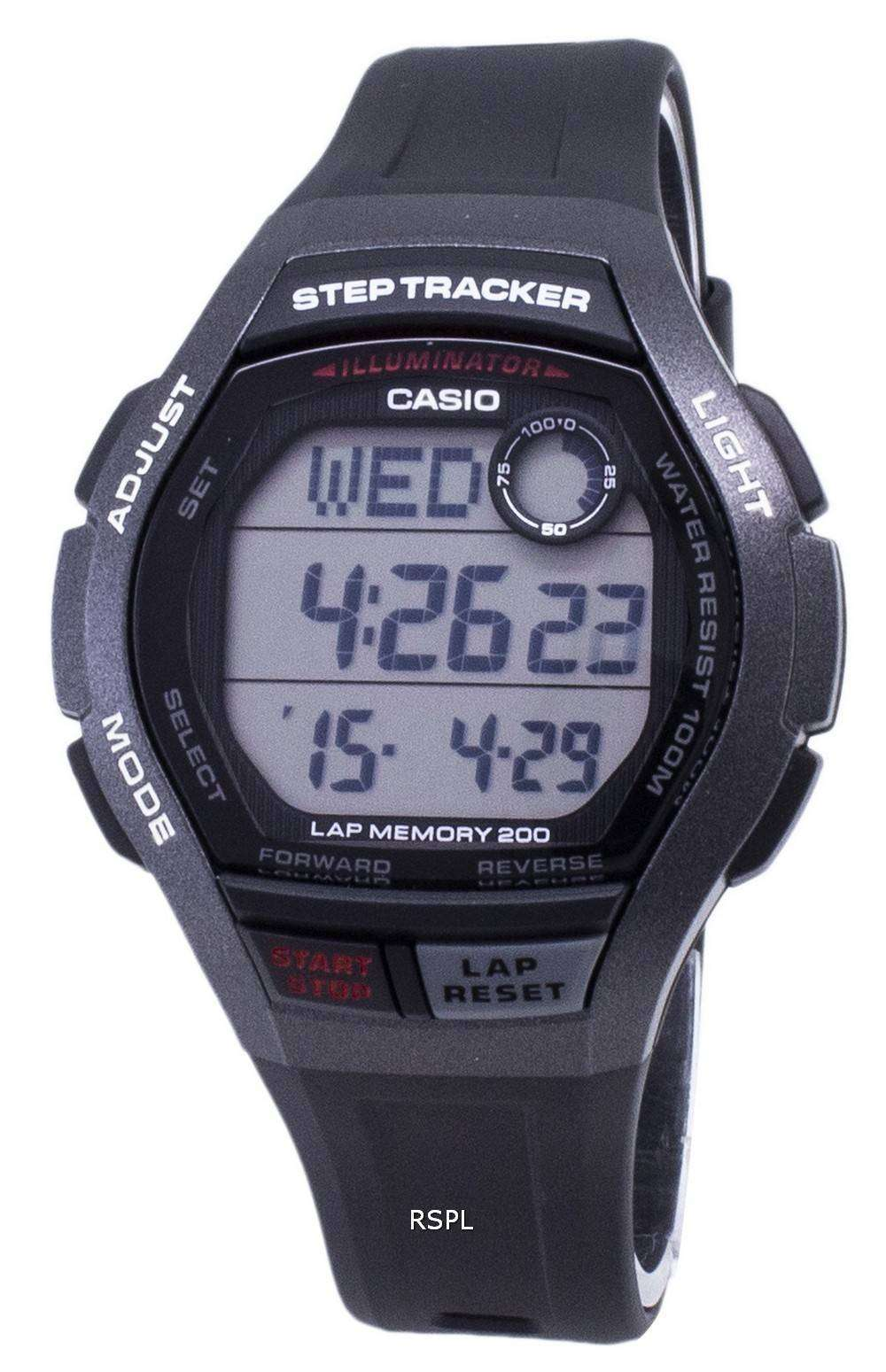 カシオ青年 WS 2000 H 1AV WS2000H-1AV 照明デジタル メンズ腕時計