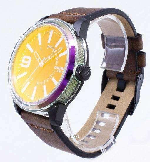 ディーゼルの石目やすり NSBB DZ1876 石英アナログ メンズ腕時計