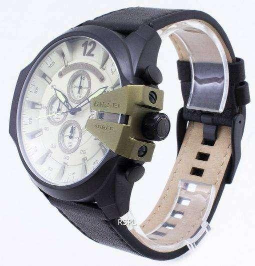 ディーゼル メガ チーフ DZ4495 クロノグラフ クォーツ メンズ腕時計