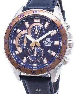カシオエディフィス低公害車-550 L-2AV EFV550L-2AV クロノグラフ クォーツ メンズ腕時計