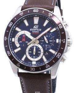 カシオエディフィス低公害車-570 L-2AV EFV570L-2AV クロノグラフ クォーツ メンズ腕時計