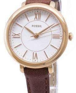 化石ジャクリーン ES4412 石英アナログ レディース腕時計