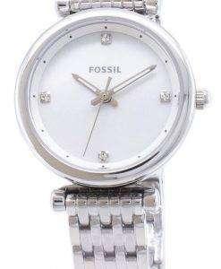 化石 Carlie ES4430 石英アナログ レディース腕時計