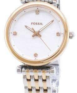 化石 Carlie ES4431 石英アナログ レディース腕時計