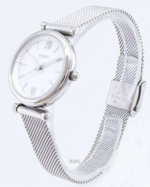 化石 Carlie ES4432 石英アナログ レディース腕時計