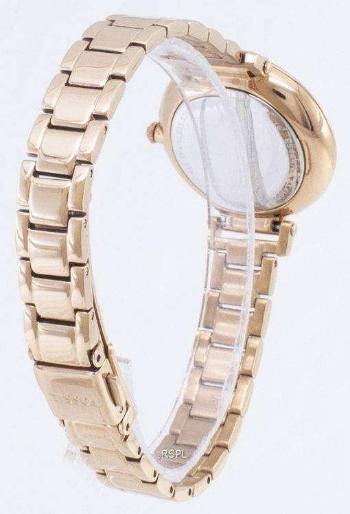 化石キンゼイ ES4447 ダイヤモンド アクセント クォーツ レディース腕時計