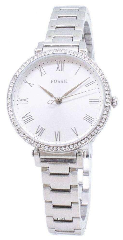 化石キンゼイ ES4448 ダイヤモンド アクセント クォーツ レディース腕時計