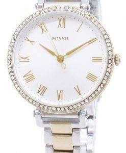 化石キンゼイ ES4449 ダイヤモンド アクセント クォーツ レディース腕時計
