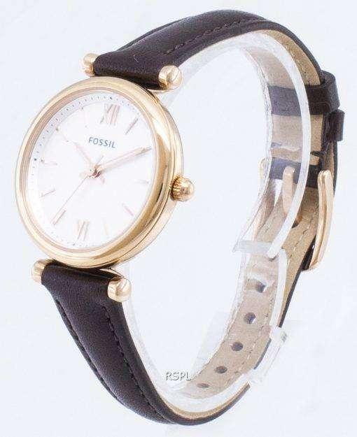 化石 Carlie ES4472 石英アナログ レディース腕時計