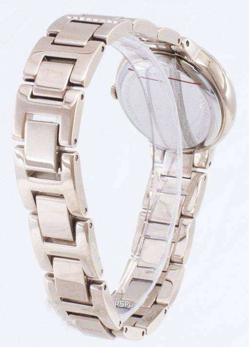 化石バージニア ES4482 ダイヤモンド アクセント クォーツ レディース腕時計