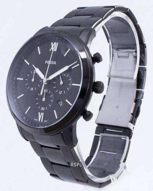 化石ノイトラ FS5474 クロノグラフ クォーツ メンズ腕時計