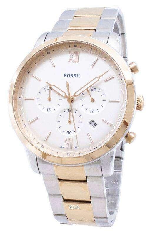 化石ノイトラ FS5475 クロノグラフ クォーツ メンズ腕時計
