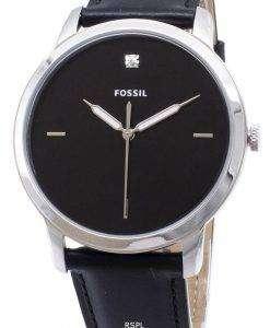 化石のシンプルな FS5497 石英アナログ メンズ腕時計