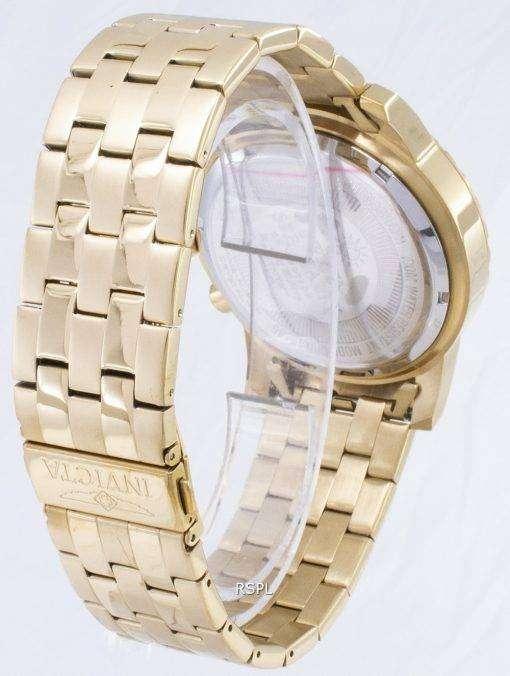 インビクタ専門 19465 クロノグラフ クォーツ メンズ腕時計