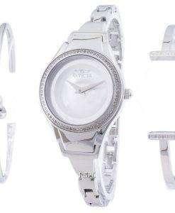 インビクタ天使 26765 ダイヤモンド アクセント クォーツ レディース腕時計