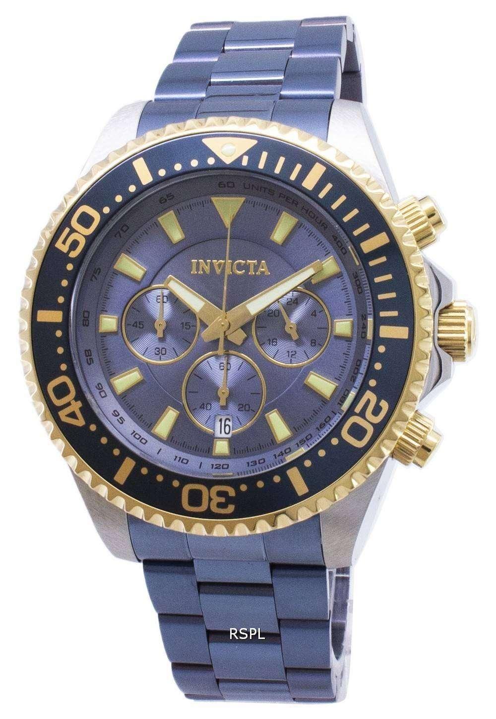 インビクタ Pro 27482 ダイバー クロノグラフ クォーツ 200 M メンズ腕時計