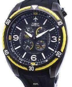 インビクタ アビエイター 28085 クロノグラフ クォーツ メンズ腕時計