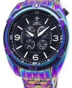 インビクタ アビエイター 28090 クロノグラフ クォーツ メンズ腕時計