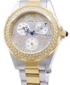 インビクタ天使 28433 ダイヤモンド アクセント アナログ クオーツ レディース腕時計