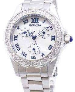 インビクタ天使 28436 ダイヤモンド アクセント アナログ クオーツ レディース腕時計