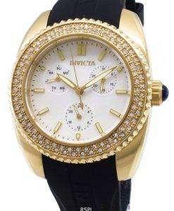 インビクタ天使 28489 ダイヤモンド アクセント アナログ クオーツ レディース腕時計