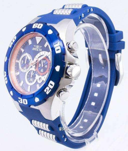 インビクタ Pro 28717 ダイバー クロノグラフ タキメーター クォーツ メンズ腕時計