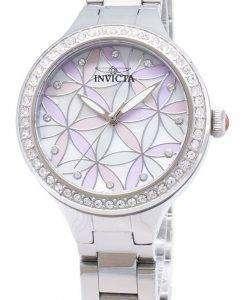 インビクタ ワイルドフラワー 28823 ダイヤモンド アクセント アナログ クオーツ レディース腕時計