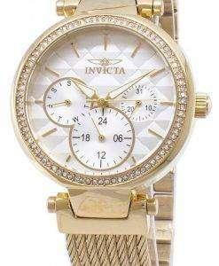 インビクタ ワイルドフラワー 28917 クロノグラフ クォーツ レディース腕時計