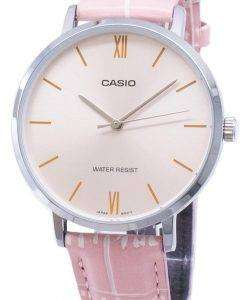 カシオ石英 LTP VT01L 4B アナログ レディース腕時計