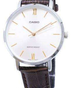 カシオ石英 LTP VT01L 7B2 アナログ レディース腕時計